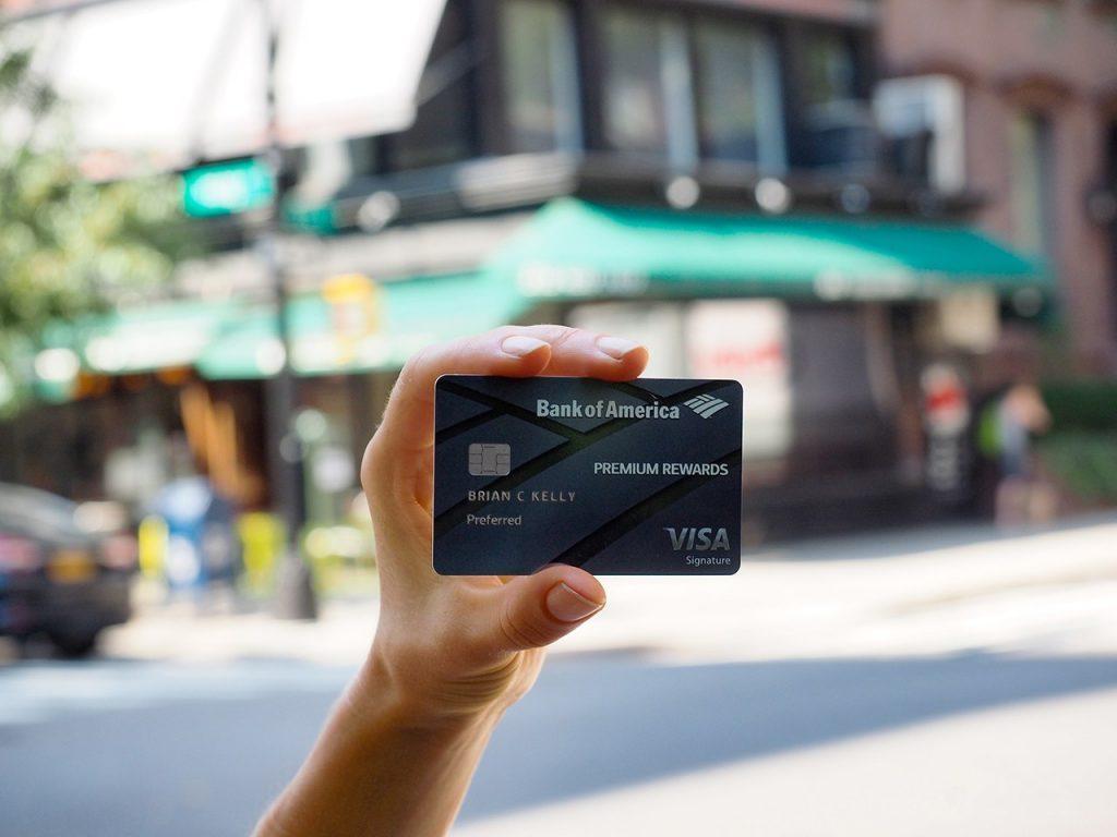 bank of america credit card
